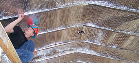 What Is Green Energy Barrier Radiant Attic Insulation?
