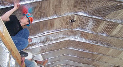 Reflective Radiant Attic Insulation - Save Energy Bills Money - Riverside