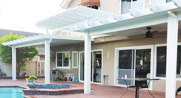 Aluminum Patio Covers Installation in Riverside California